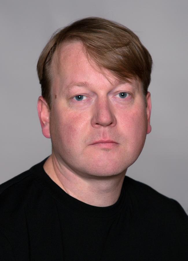 Niklas Eriksson porträttfoto